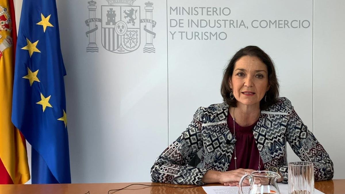 La ministra Maroto ha comentado la apertura de las fronteras terrestres.