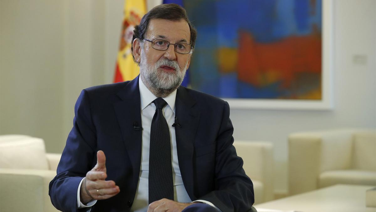 Rajoy ha reclamado hoy a Puigdemont que suprima su proyecto de hacer una declaración unilateral de independencia.