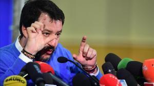 El líder de la Liga, Matteo Salvini.