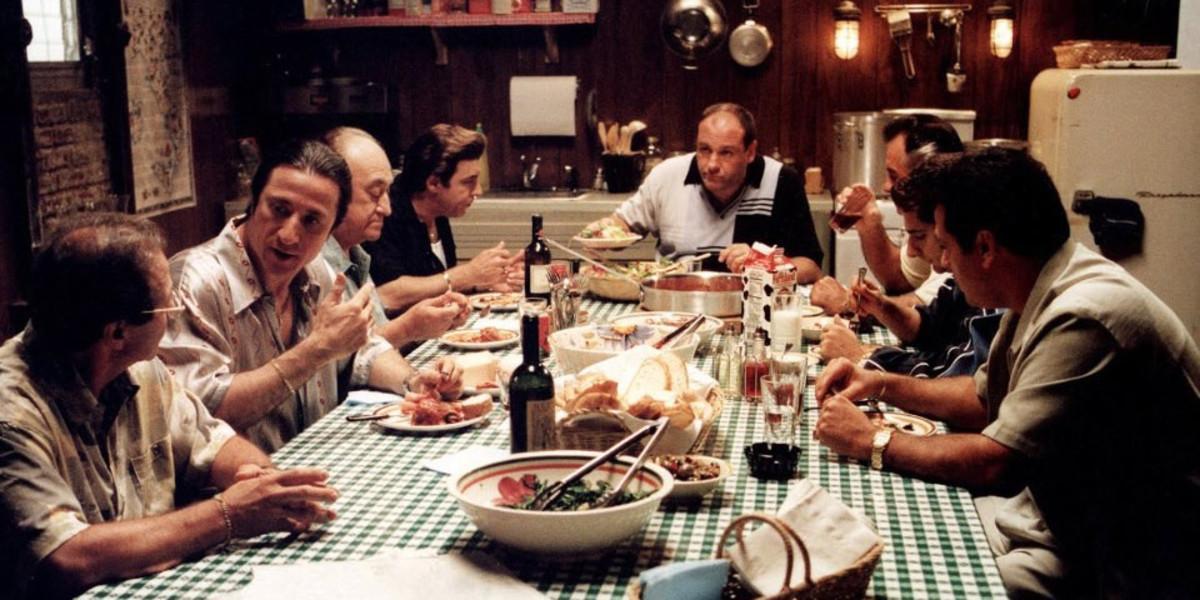 Fotograma de la serie 'Los Soprano'