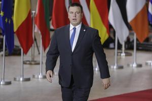 El primer ministro de Estonia, Juri Ratas.