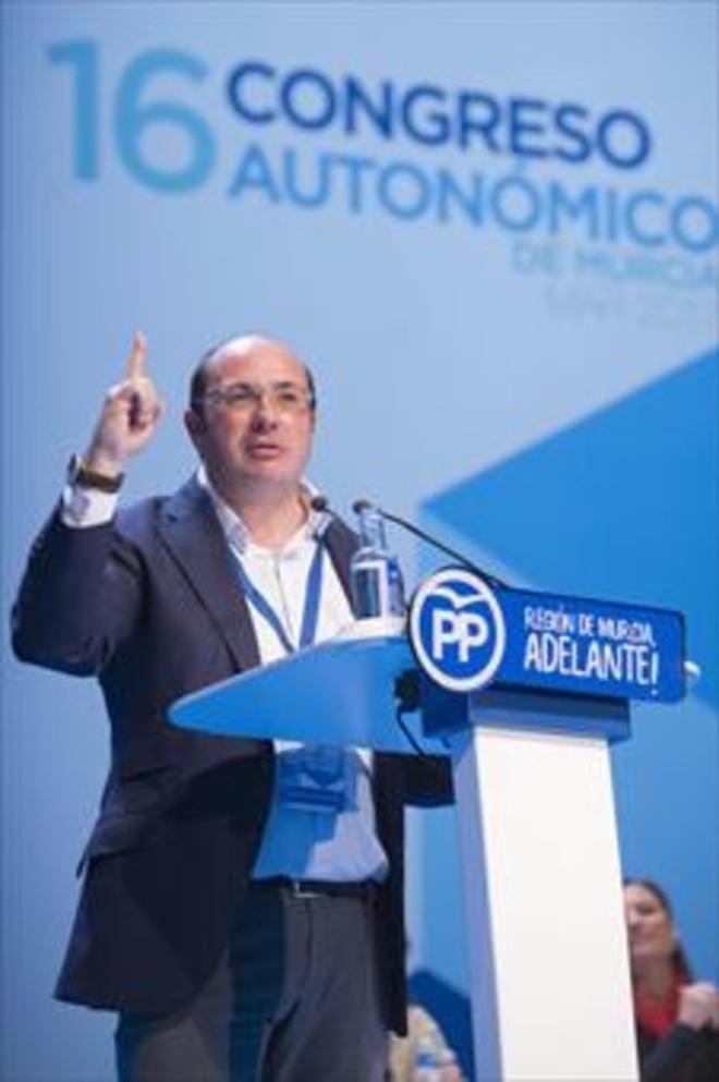 El expresidente de Murcia Pedro Antonio Sánchez.