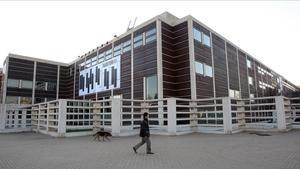 Edificio del Auditori de Barcelona.