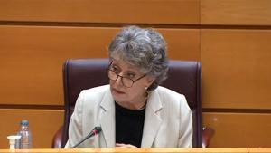 """Rosa María Mateo reconoce el """"error"""" de quitar la publicidad de TVE: """"Para más audiencia se necesita más dinero"""""""