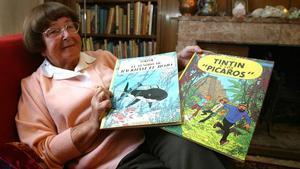 Mor l'editora Conxita Zendrera, que va publicar els primers llibres de Tintín a Espanya
