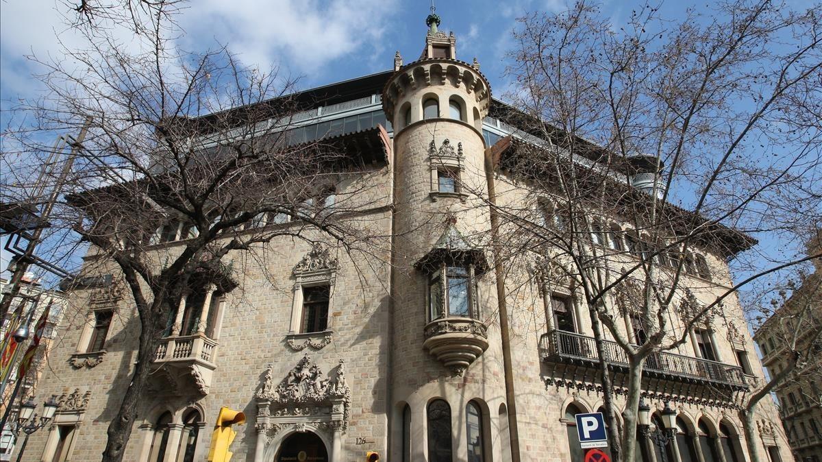 Sede de la Diputación de Barcelona.