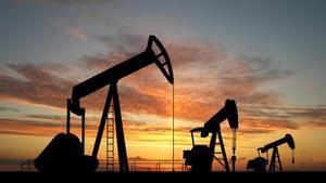 Extracción de petróleo en Texas (EEUU).