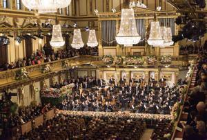 Concierto de Año Nuevo de Viena de archivo
