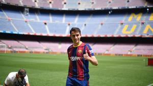 Èric García: «Estic molt content de tornar a casa»