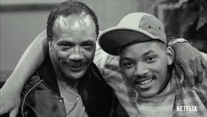 Quincy Jones y Will Smith, en el documental 'Quincy'