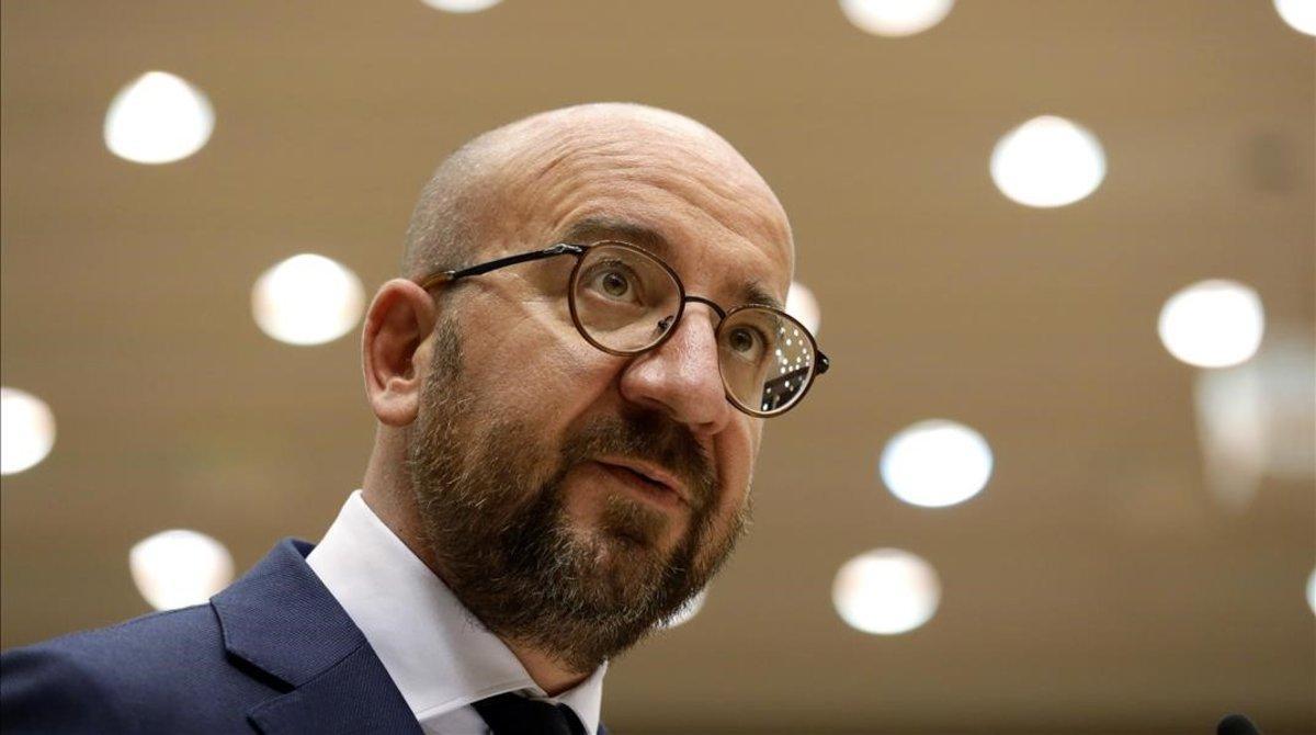 El presidente del Consejo Europeo (CE), Charles Michel.
