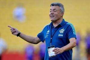 Domènec Torrent, entrenador del Flamengo de Brasil.
