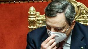 Draghi insta a la unitat per «reconstruir» Itàlia davant emergències històriques