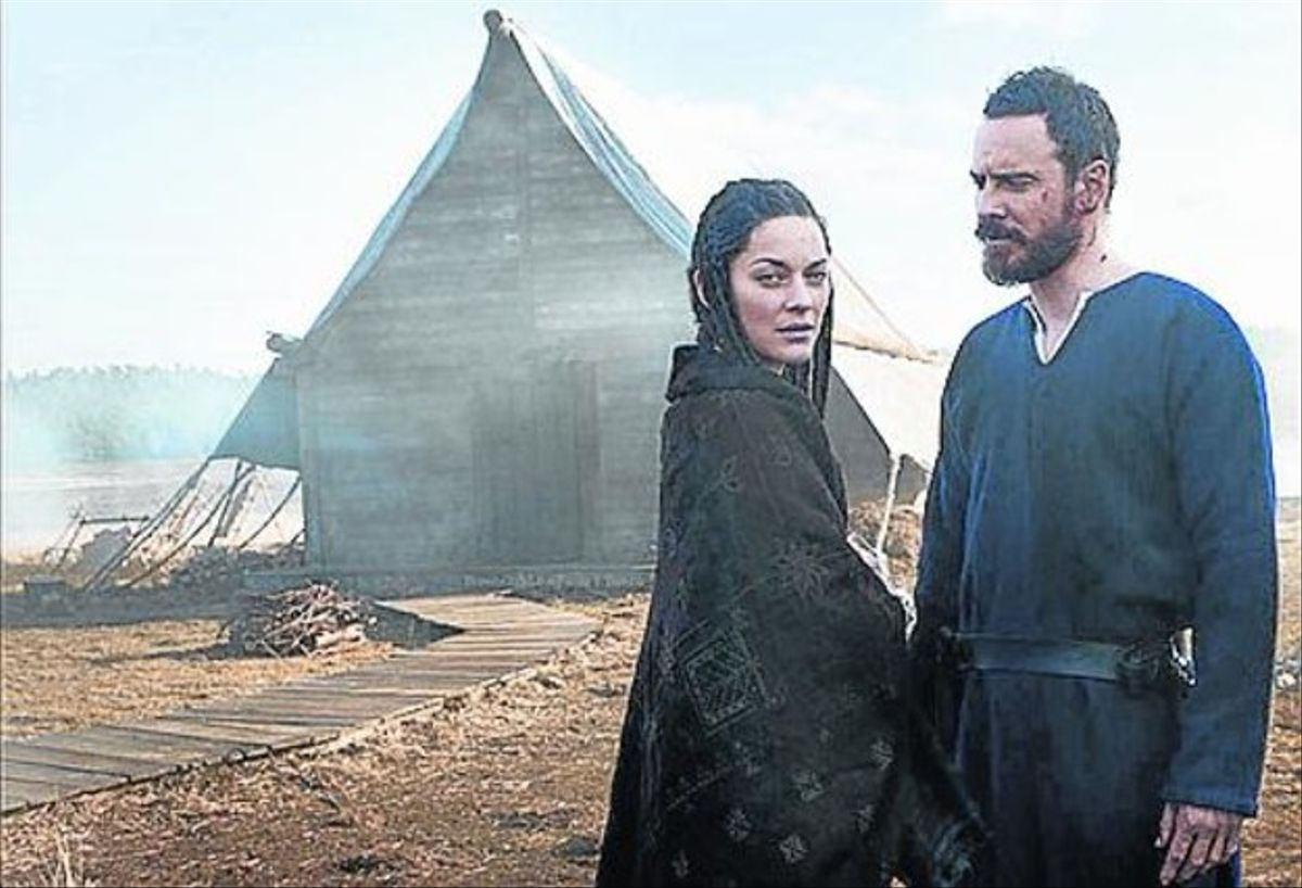 Marion Cotillard y Michael Fassbender en el 'Macbeth' de Justin Kurzel.