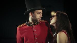 Josep Sobrevals y Mar del Hoyo, en una escena de'La desaparició de Wendy', de Benet i Jornet, que ha dirigido Oriol Broggi.
