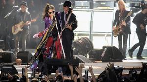 Aerosmith demuestran estar en forma