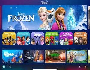 Contenido de la plataforma Disney+ para Latinoamérica.