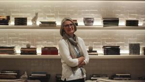 La escritora canadiense Louise Penny, en su última visita a Barcelona.