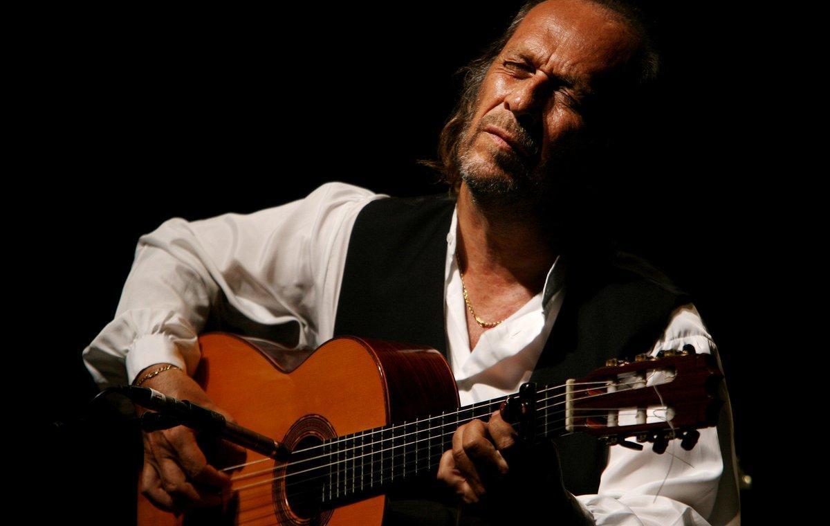 Paco de Lucía, en uno de sus últimos conciertos.