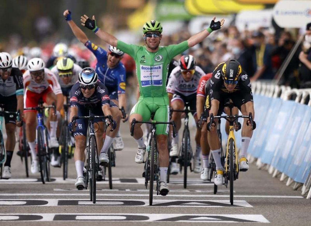 Cavendish consigue en Valence el triunfo número 33 en el Tour.