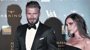 David y Victoria Beckham, una pareja habitual en los 'rankings'.
