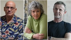 James Ellroy, Sue Grafton y Jo Nesbo.