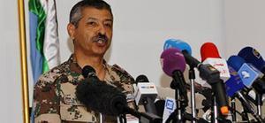El general de división jordano Mansur al Jbur, este domingo.