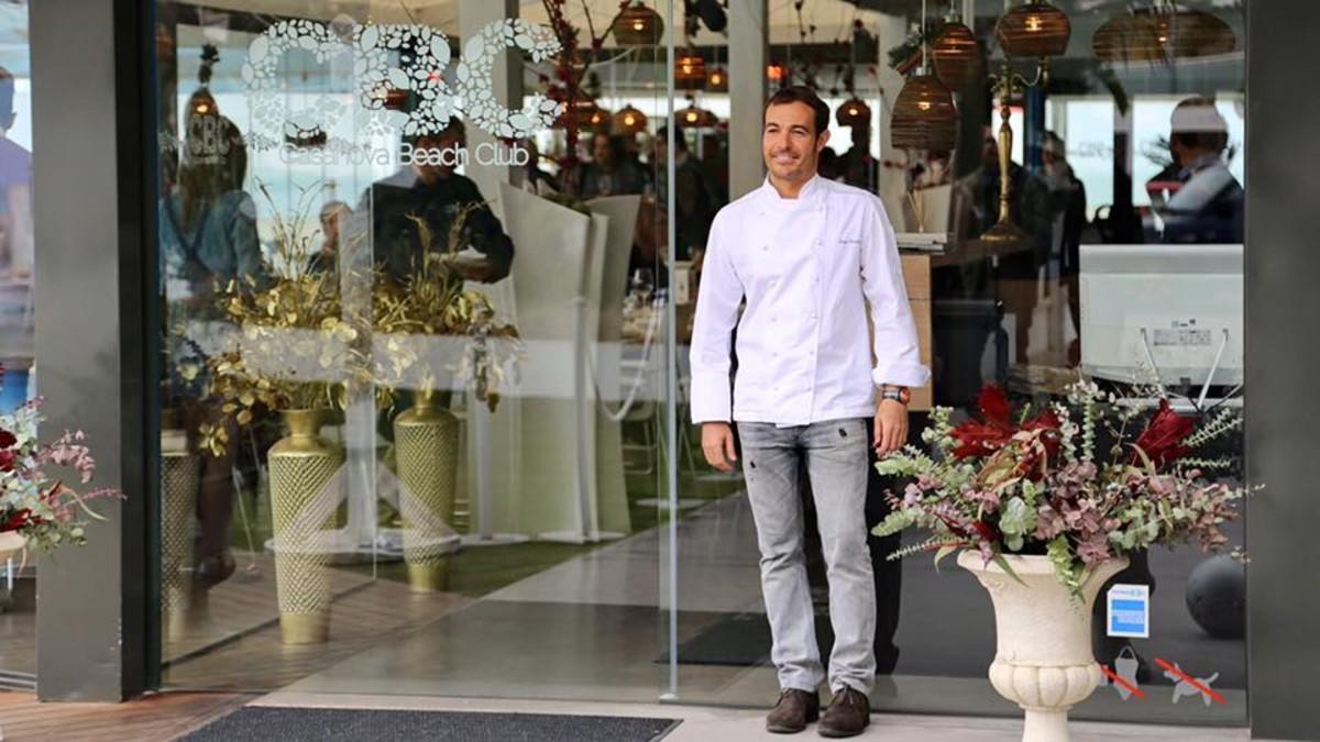 El cocinero Sergio Cócera.