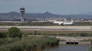 El aeropuerto de El Prat.