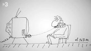 Las sagaces viñetas de Perich (TV-3).