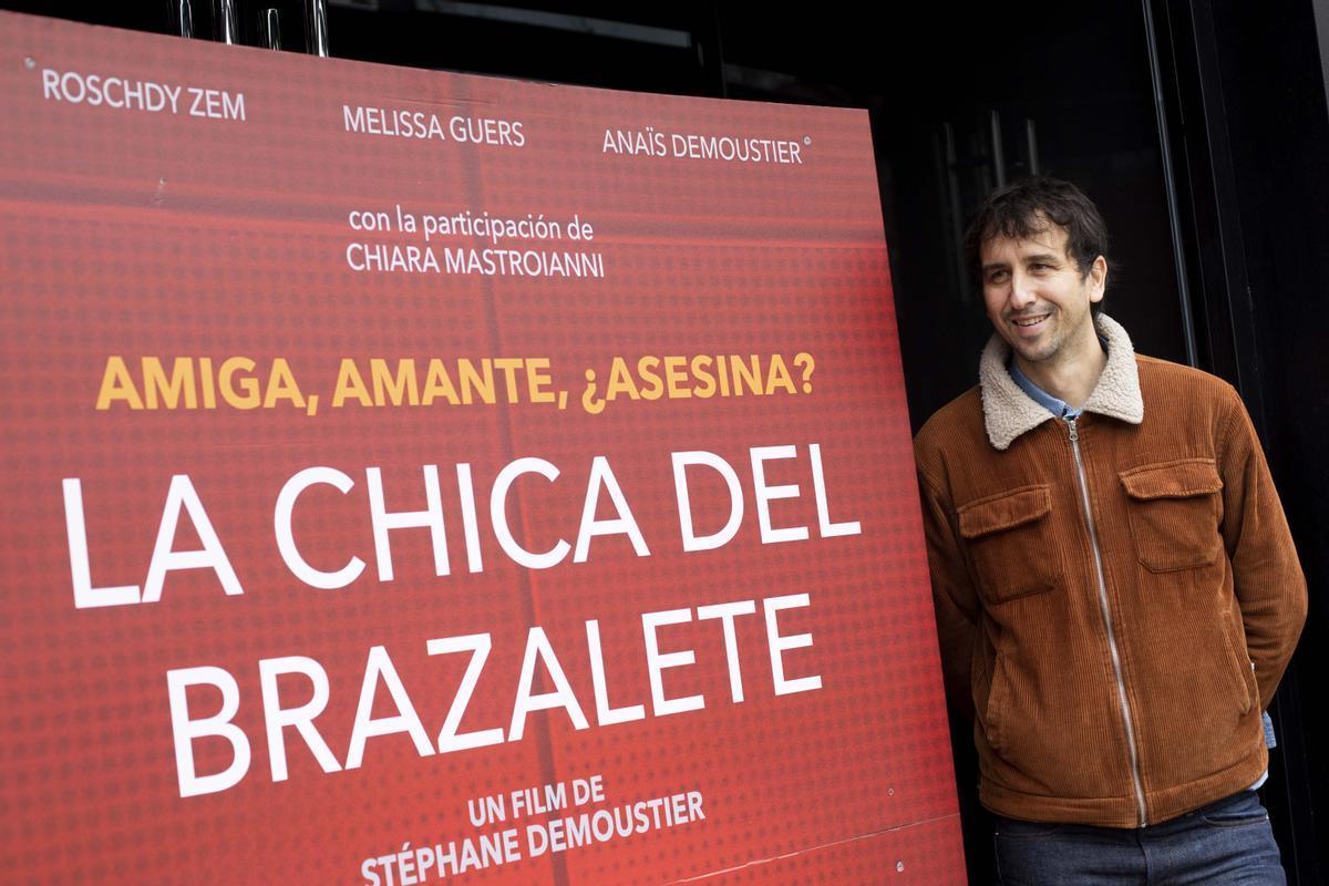 Stéphane Demoustier, durante la presentación del filme en Madrid.