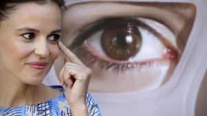 Elena Anaya, en agosto del 2011, durante la promoción en Madrid de la película 'La piel que habito'.