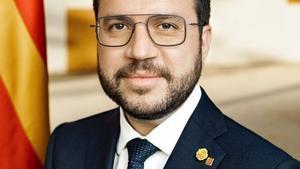 Fotografia oficial del presidentPere Aragonès