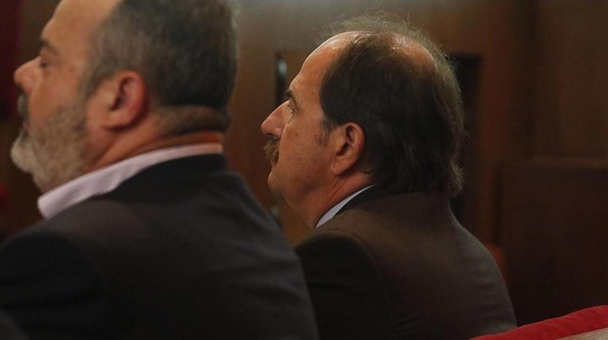 El exdiputado de CiU y exalcalde de Lloret de Mar, en el inicio del juicio el pasado 3 de junio.