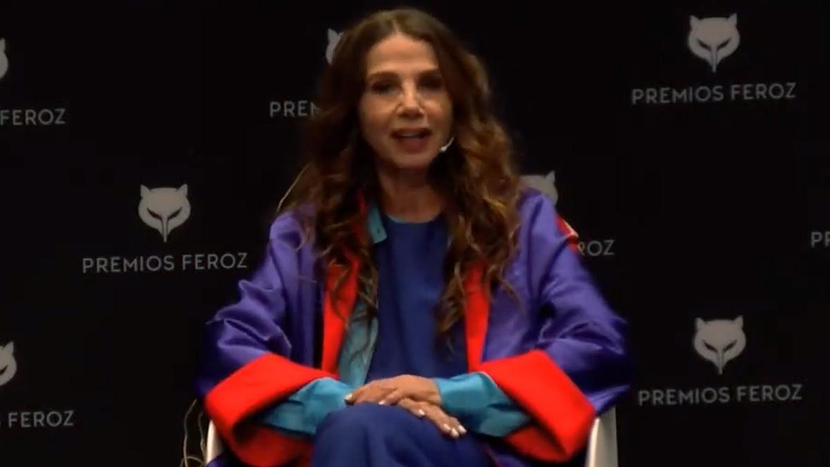 Las redes arden por el negacionismo de Victoria Abril y piden que se le retire el Premio Feroz