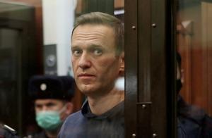 Alexéi Navalni frente al tribunal de Moscú el pasado 2 de febrero.