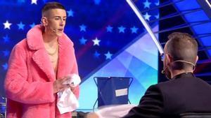 'El Cejas' torna a 'Got talent' amb un nou tema i Risto Mejide el deixa fora de la final