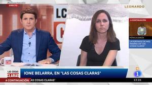 Ione Belarra elude las preguntas de Jesús Cintora sobre Cuba