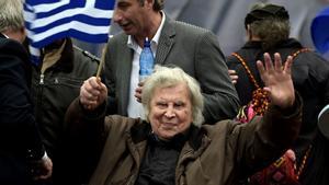 Mikis Theodorakis en una imagen de archivo de febrero de 2018