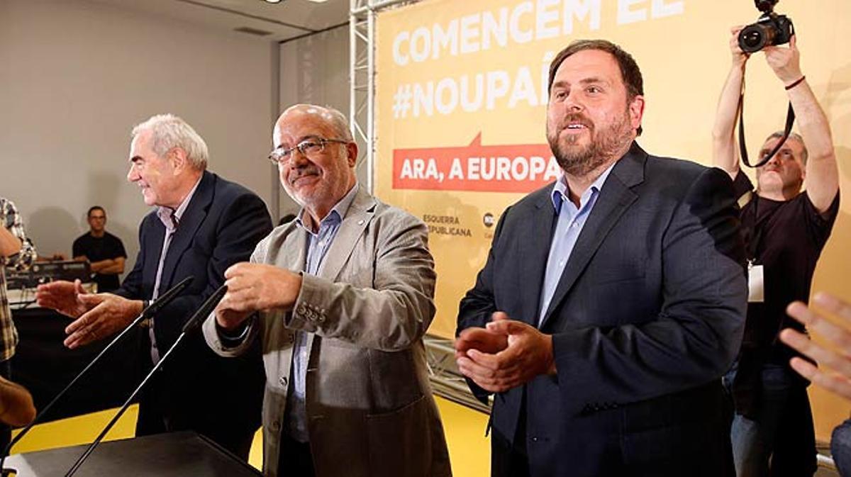 ERC gana las elecciones europeas en Catalunya.