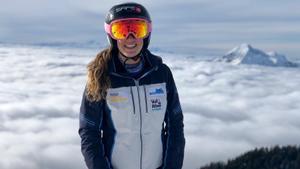 Núria Pau, una obrera de la neu