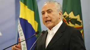 Temer demana al Suprem del Brasil que suspengui la investigació en contra seu