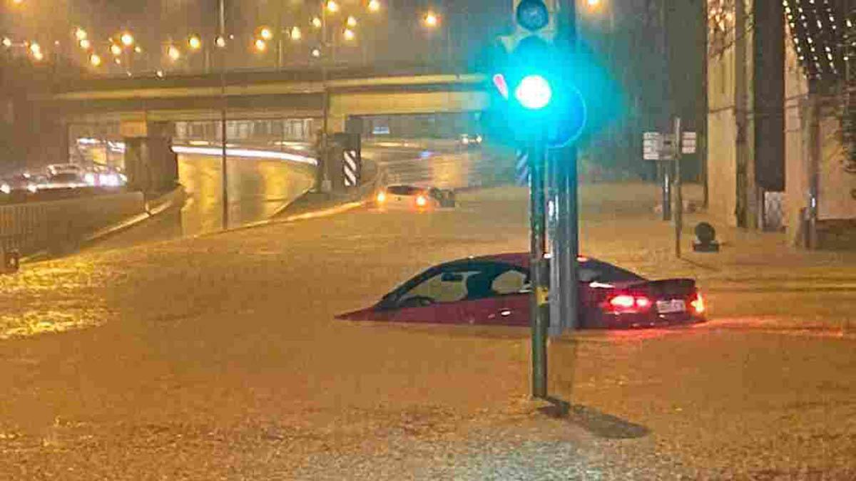 Daños en Montcada por las inundaciones.