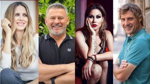 Vanesa Romero, Miki Nadal, Tamara y Julián Iantzi