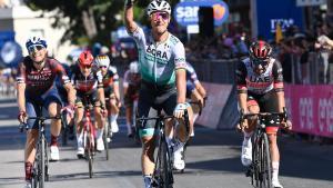 Giro d'Itàlia 2021: el primer duel en una meta volant