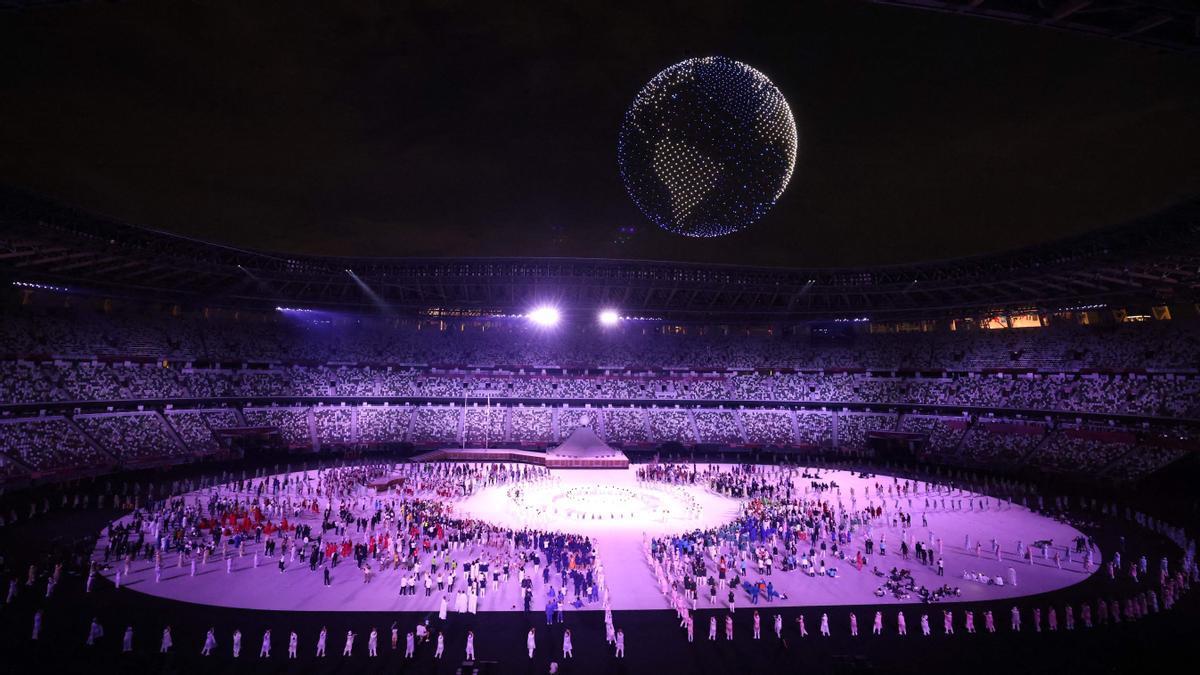 Ceremonia de inaguración de los Juegos Olimpicos de Tokio 2020