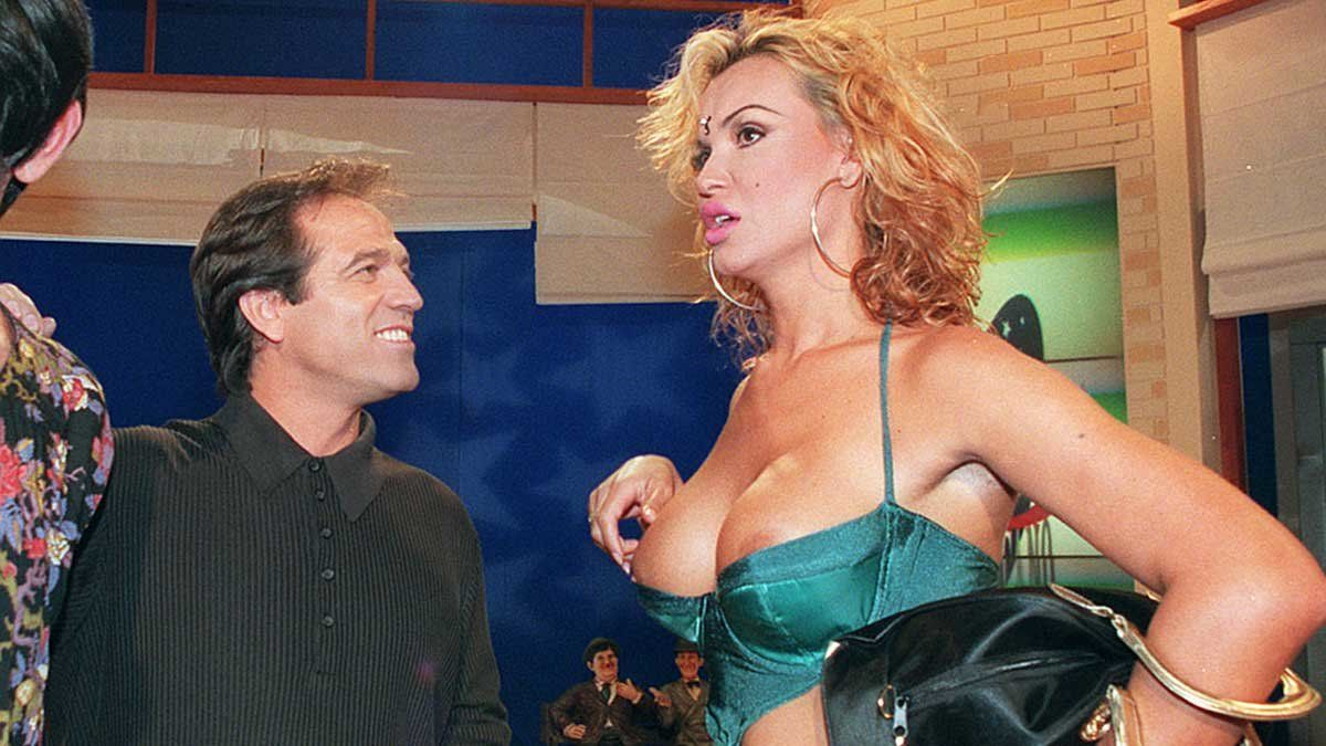 Pepe Navarro y La Veneno.