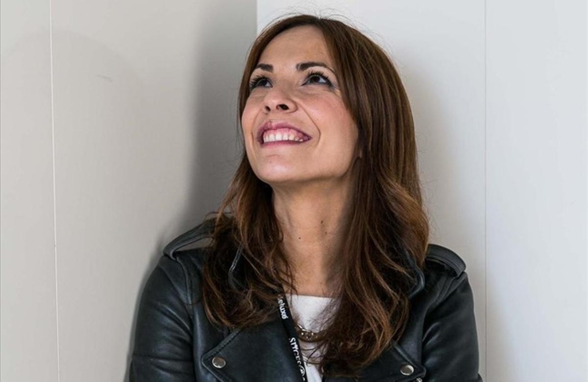 Paula Ortiz, directora de 'La novia', ayer, en Sitges.