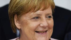 La canciller alemana Angela Merkel durante el G-20 en Osaka (Japón).