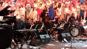 Concierto de Matthew Herbert con la Brexit Big Band en el Teatre Grec